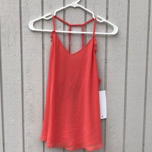 NWOT- PPLA Woven Tank Top